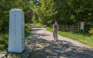 Mason-Dixon Line, great allegheny passage