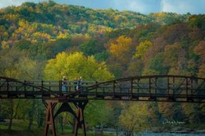 Ohiopyle Low Bridge in fall