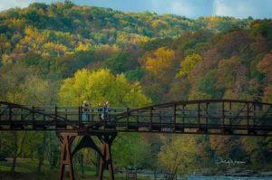 Ohiopyle Low Bridge in fall