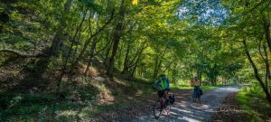 great allegheny passage, Duncan Hollow cyclists