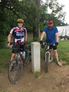 C&O Canal Towpath, mile marker 0