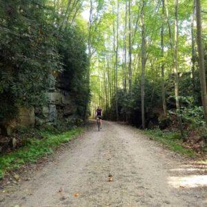 Biker, Great Allegheny Passage