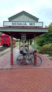 Katy Trail, Sedalia trailhead