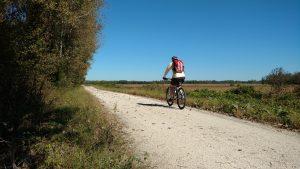Katy Trail rider