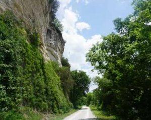 Rocheport Katy Trail bluffs