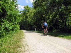 GAP mile 35, rider