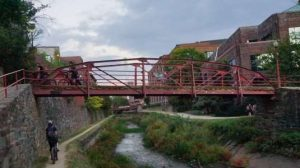 Georgetown, C&O Canal bridge