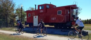 Katy Trail caboose