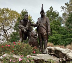 Lewis and Clark statue, Frontier Park