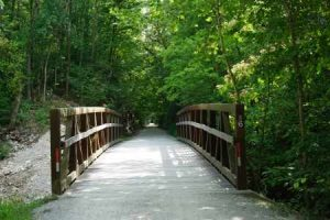 MKT Trail bridge