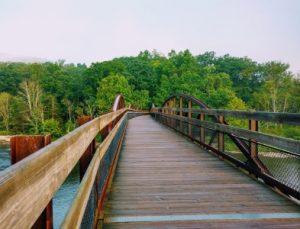 Ohiopyle Low Bridge, great allegheny passage