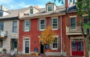 St Charles historic home, Missouri