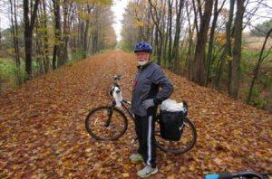 C&O canal towpath bike trail