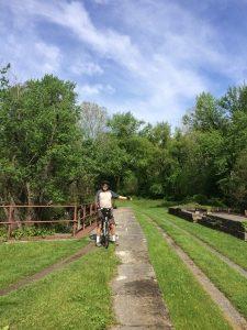 Four Locks, C&O canal Towpath