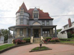 Great Allegheny Passage, Levi Deal Mansion, Meyersdale