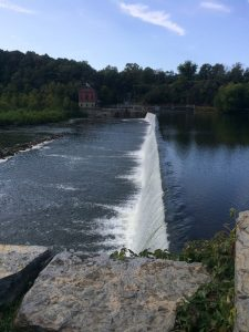 Dam along the C&O Canal Towpath