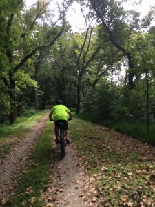 Biking on the C&O Canal Towpath