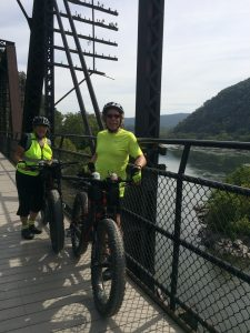 C&O Towpath, Harpers Ferry bridge