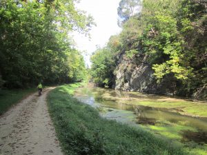 Biking the C&O Canal Towpath