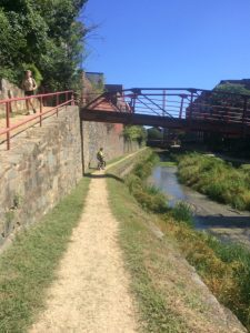 C&O Towpath at Georgetown