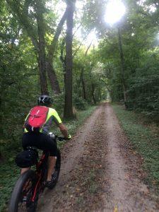 Biking the Towpath