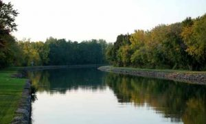 Erie Canal reflection