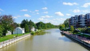 Erie Canal at Fairport