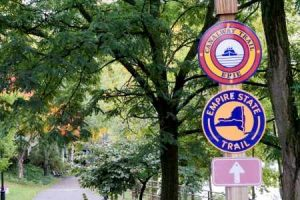 Erie Canal, Empire State Trail signs
