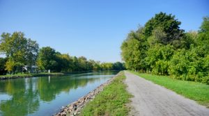 Erie Canalway,Trail, near Holley
