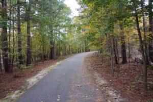 Virginia Capital Trail,, fall