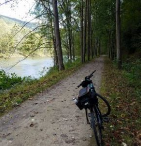 Great Allegheny Passage, bike on trail