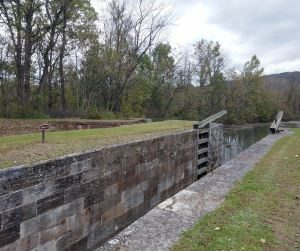 C&O Canal, Lock remains