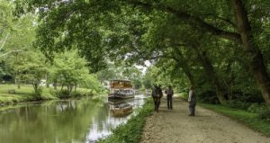 C&O Towpath, Great Falls canal boat with mule
