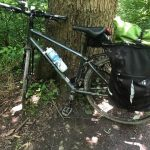 bike on C&O trail
