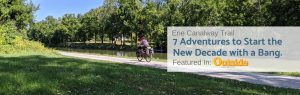 riding along the erie canalway trail